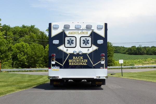 2015 Braun Liberty Type I ambulance - Ford F-450 4x4 - rear
