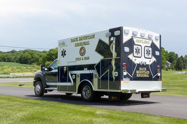 2015 Braun Liberty Type I ambulance - Ford F-450 4x4 - driver rear