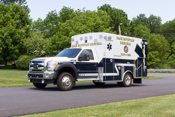 2015 Braun Liberty Type I ambulance - Ford F-450 4x4 - driver front