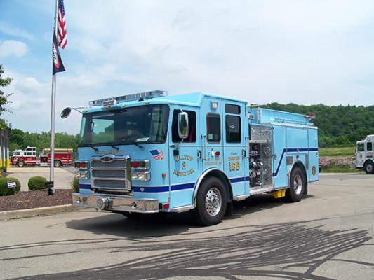 2016 Pierce Enforcer - fire engine pumper - front