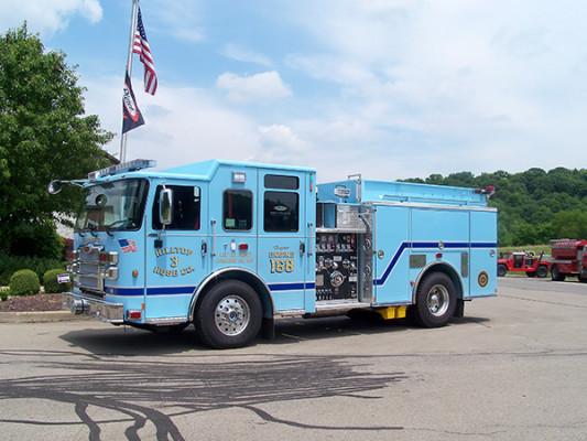 2016 Pierce Enforcer - fire engine pumper - driver front
