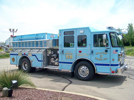 2016 Pierce Enforcer - fire engine pumper - passenger front