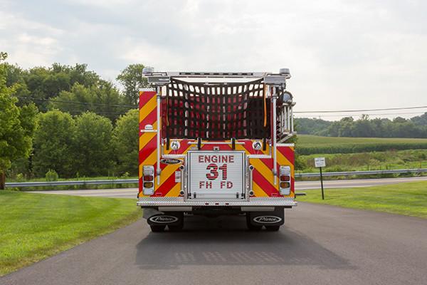 2016 Pierce Arrow XT - fire engine pumper - rear
