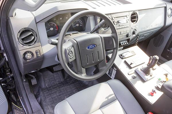 2016 Firematic BRAT Rally 1000 - mini pumper fire engine - cab interior
