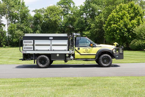 2016 Firematic BRAT Rally 1000 - mini pumper fire engine - passenger side