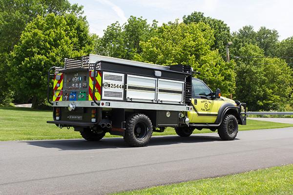 2016 Firematic BRAT Rally 1000 - mini pumper fire engine - passenger rear