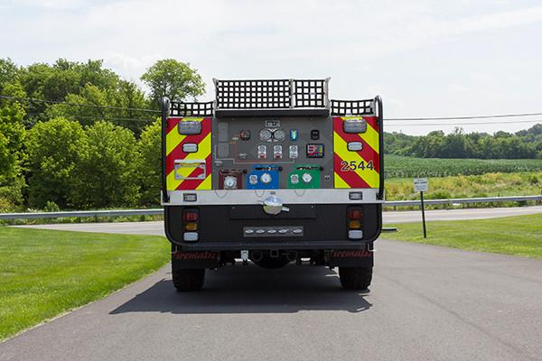 2016 Firematic BRAT Rally 1000 - mini pumper fire engine - rear