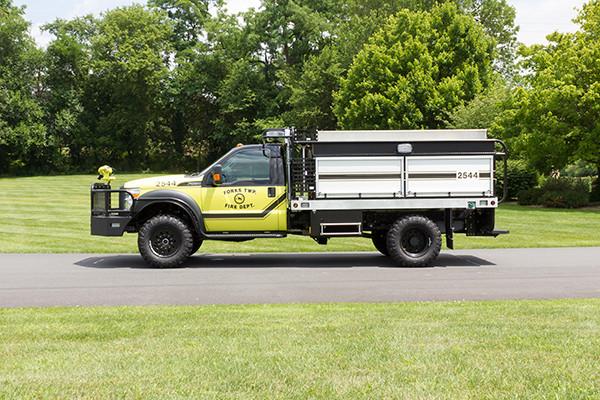 2016 Firematic BRAT Rally 1000 - mini pumper fire engine - driver side