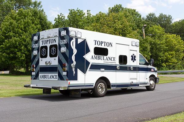 new ambulance sales - Braun Chief XL Type III - passenger rear