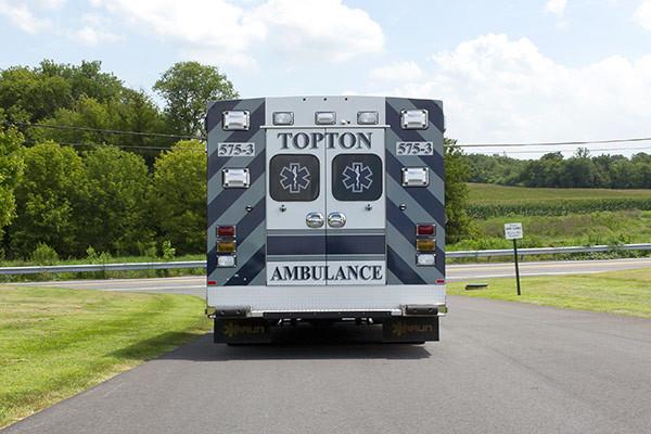 new ambulance sales - Braun Chief XL Type III - rear