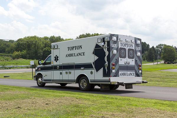 new ambulance sales - Braun Chief XL Type III - driver rear