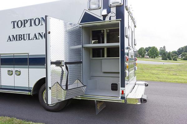 new ambulance sales - Braun Chief XL Type III - module compartment driver rear