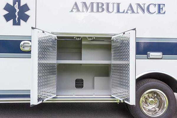 new ambulance sales - Braun Chief XL Type III - module compartment driver mid