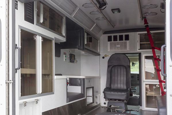 new ambulance sales - Braun Chief XL Type III - module interior driver side