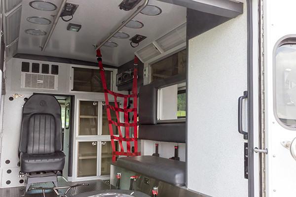 new ambulance sales - Braun Chief XL Type III - module interior passenger side