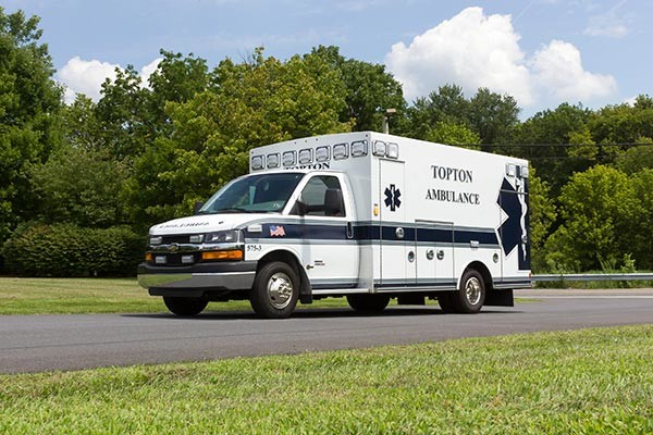 new ambulance sales - Braun Chief XL Type III - driver front