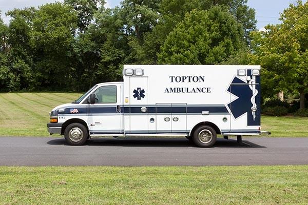 new ambulance sales - Braun Chief XL Type III - driver side