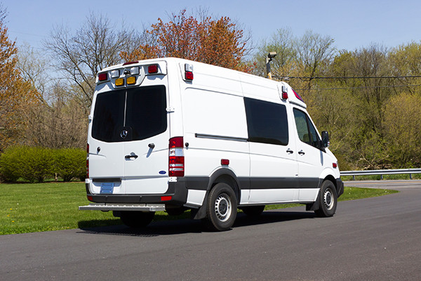 2016 Demers Type II ambulance - Mercedes Sprinter - passenger rear