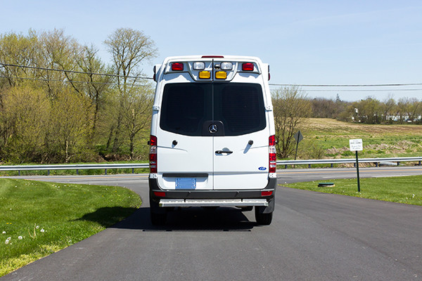 2016 Demers Type II ambulance - Mercedes Sprinter - rear