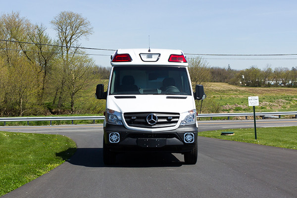 2016 Demers Type II ambulance - Mercedes Sprinter - front