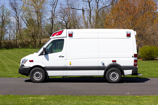 2016 Demers Type II ambulance - Mercedes Sprinter - driver side
