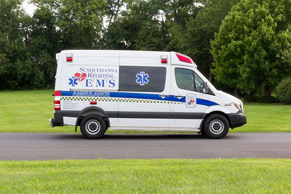 2016 Demers Mirage EXE Type II ambulance - Mercedes Sprinter - passenger side