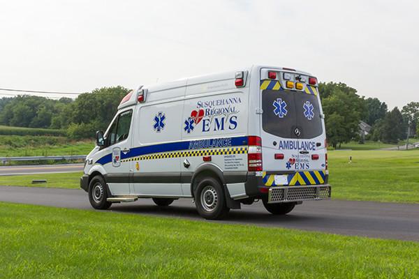 2016 Demers Mirage EXE Type II ambulance - Mercedes Sprinter - driver rear