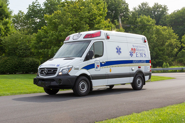 2016 Demers Mirage EXE Type II ambulance - Mercedes Sprinter - driver front