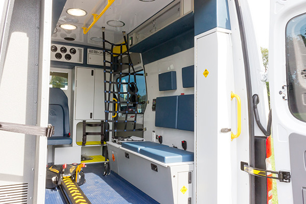 2016 Demers Mirage EXE Type II ambulance - Mercedes Sprinter - bench