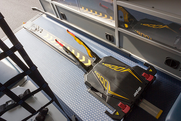 2016 Demers Mirage EXE Type II ambulance - Mercedes Sprinter - stryker power-load