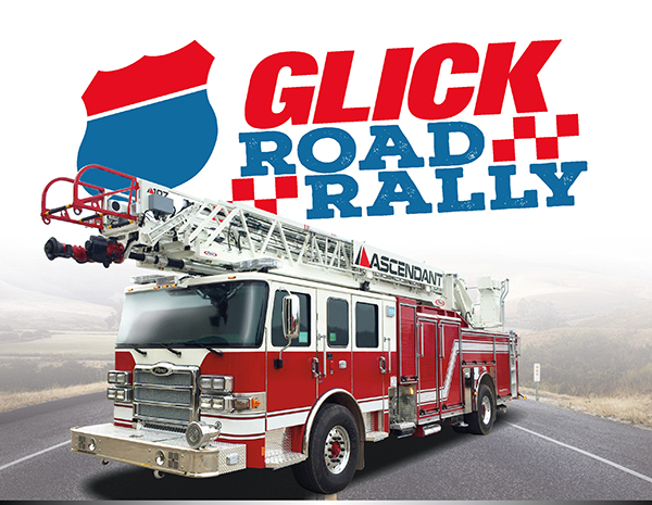 Glick road rally - Pierce Ascendant demonstration event
