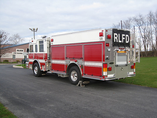 2009 Pierce Arrow XT - PUC rescue pumper fire engine - driver rear