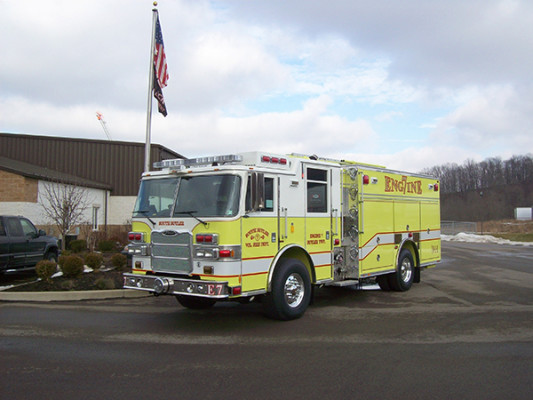 2009 Pierce Arrow XT PUC rescue pumper - fire engine - driver side front