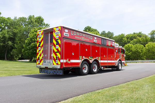 new 2016 Pierce Arrow XT walk-in heavy rescue - fire rescue truck - passenger rear
