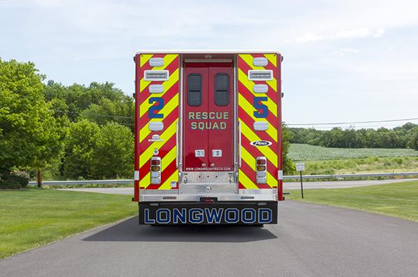 new 2016 Pierce Arrow XT walk-in heavy rescue - fire rescue truck - rear