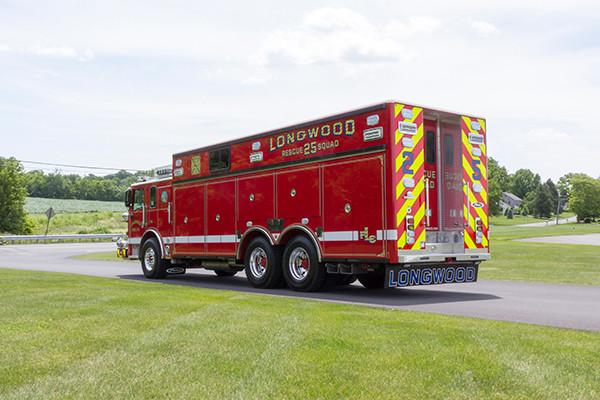 new 2016 Pierce Arrow XT walk-in heavy rescue - fire rescue truck - driver rear
