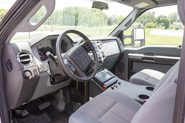 new 2016 Braun ambulance - type I ambulance - cab interior