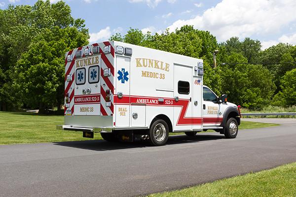 new 2016 Braun ambulance - type I ambulance - passenger rear
