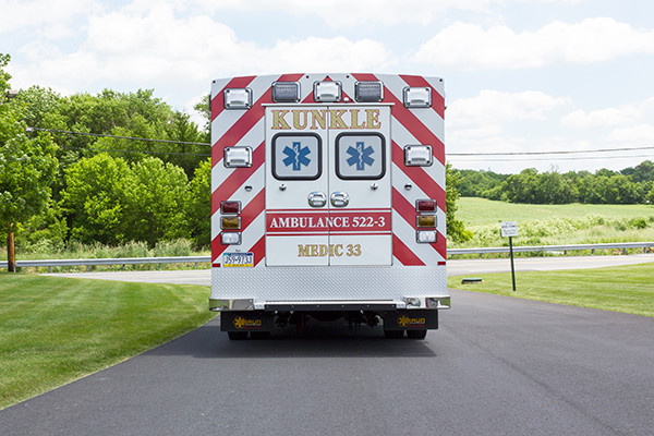new 2016 Braun ambulance - type I ambulance - rear