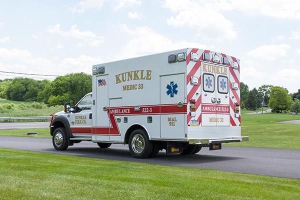 new 2016 Braun ambulance - type I ambulance - driver rear