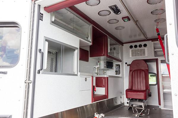 new 2016 Braun ambulance - type I ambulance - module driver side
