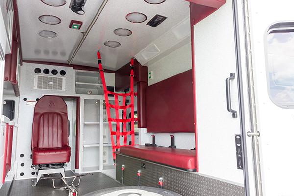 new 2016 Braun ambulance - type I ambulance - module passenger side