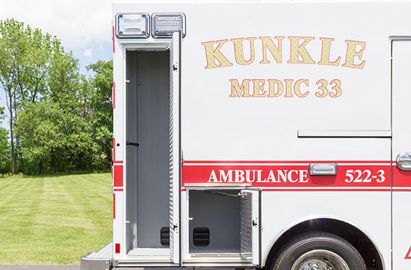 new 2016 Braun ambulance - type I ambulance - passenger compartments