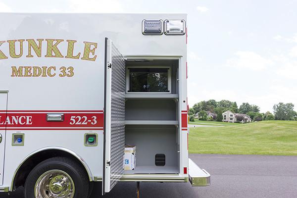 new 2016 Braun ambulance - type I ambulance - driver rear cabinet