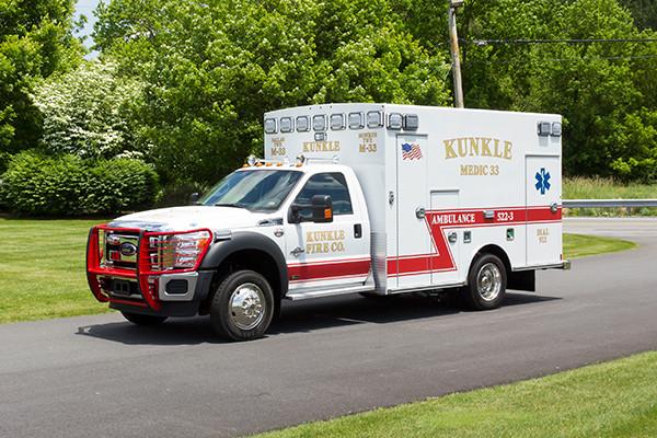 new 2016 Braun ambulance - type I ambulance - driver front
