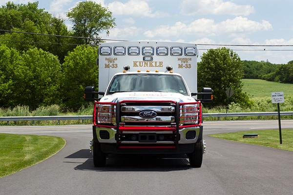 new 2016 Braun ambulance - type I ambulance - front