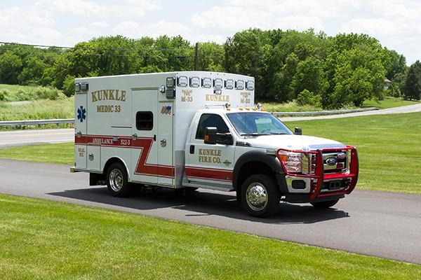 new 2016 Braun ambulance - type I ambulance - passenger front
