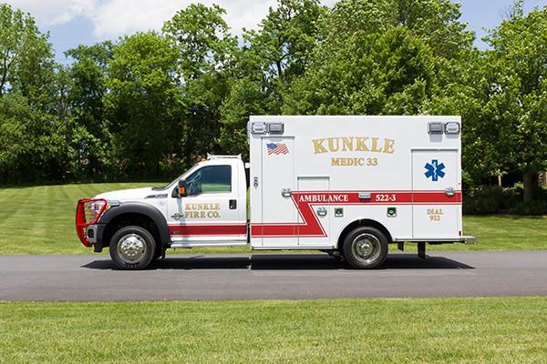 new 2016 Braun ambulance - type I ambulance - driver side