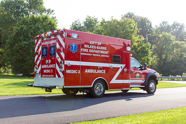 new 2016 Braun Liberty Type I ambulance - passenger rear