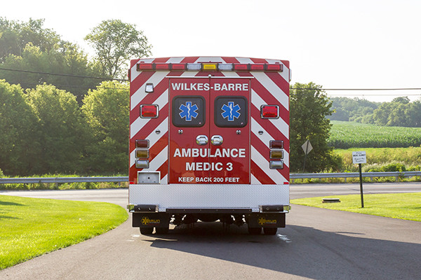 new 2016 Braun Liberty Type I ambulance - rear